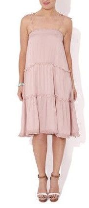 Coconut Dress in Blush  $29  size sml, med  (rrp $115)