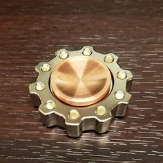 Fidget Spinner  The Cog Stainless Edition