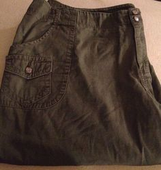 Cato Womens Plus Size Hunter Green Shorts Sz 22w in Clothing, Shoes & Accessories | eBay