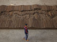 "When Ai Weiwei returned to his studio for the first time after 81 days of detention by the Chinese government, he heard the ""incredibly powerful"" sound of his assistants hammering away at his 150-ton sculpture Straight, as they had done in defiance throughout his incarceration."