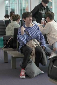 Junkyu at Incheon Airport Incheon, Yg Entertaiment, Yg Trainee, Hyun Suk, Babe, Fandom, Treasure Boxes, Suho, Boy Groups