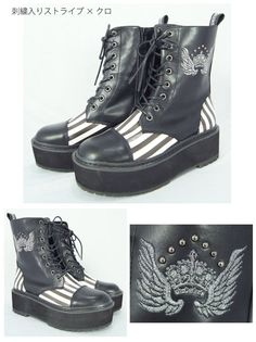 [Limited commodity] (K1631) Algonquin platform lace-up boots   Algonquin [ALGONQUINS] official mail order   ALGONQUINS OFFICIAL WEB SHOP