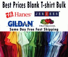 Find T Shirt Wholesale coupon codes with NerdWallet Shopping - Wholesale Clothing and T shirt! Apparel, Jerzees, Gildan, Ultrablend, Hanes, comfortblend, Hanes Beefy,Port Authority,sportswear, imprintable, wholesale supplier, wholesale distributor. Yes Shipping is Free on all of our products! Same day Shipping if order before 2:00PM EST.Save up to a 60% in 1st Quality Blanks wholesale t shirts.Screen printing and business cards at a better value. There are No Minimuns