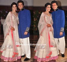 The bridal wear! Wooow (Sangeet) Manish Malhotra creation