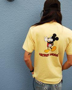 [TOPS] Disney x SD Mickey Mouse T PRICE : ¥7.800(+Tax) RELEASE : Jul. #standardcalifornia #スタンダードカリフォルニア #goodtimes
