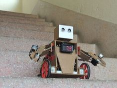 Picture of How I made a robot- D.S
