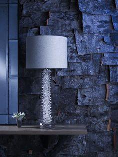 Husk Lamp, Twig Console Table. Porta Romana | Image Library | Enchanted  Forest. Amalfi Mirror, Thorn Column Lamp,