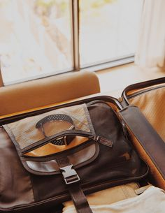 Image by Umbrla Co. located in Denver Toiletry Bag, Denver, Carry On, Leather Bag, Satchel, Gold, Bags, Satchel Purse, Handbags