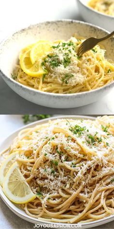 Garlic Butter Pasta, Garlic Parmesan Pasta, Lemon Garlic Pasta, Lemon Chicken Pasta, Pasta With Garlic, Cheesy Pasta Recipes, Pasta Dinner Recipes, Chicken Pasta Recipes, Mexican Pasta Recipes