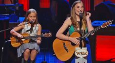 Country Music Lyrics - Quotes - Songs Lennon and maisy - Adorable Sisters Cover Johnny Cash at the Opry (VIDEO) - Youtube Music Videos http://countryrebel.com/blogs/videos/18969483-adorable-sisters-cover-johnny-cash-at-the-opry-video