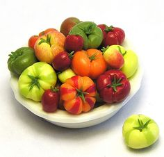 A wonderful collection of Heirloom tomatoes