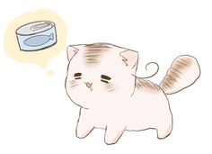 This cat is so adorable, is it from something, or is this just how the artist draws it?