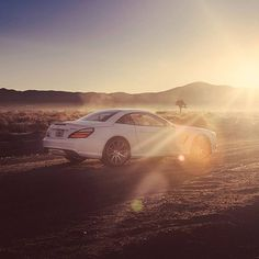 Sunrise on Mercedes-AMG SL 65. Photo by @RVT3. [Combined fuel consumption: 11.9 l/100km | CO2 emission: 279 g/km] #MercedesBenz #MercedesAMG #Mercedes #Benz #AMG #SL #SL65AMG #V12 #DrivingPerformance #sunrise #desert by mercedesamg