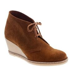 Macalister Wedge Boots | J.crew