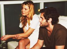 Blake Lively and Penn Badgley; Gossip Girl