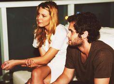 Blake Lively and Penn Badgley; Gossip Girl