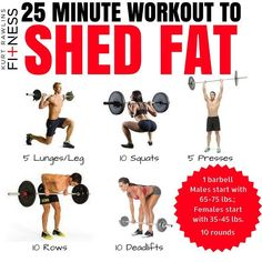 Total Body Workout Plan Using Only A Barbell - 15 The Best Barbell Exercises - GymGuider.com