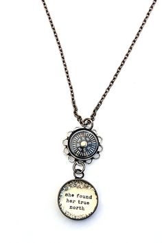 "For when I FIND ""my"" True North...  she found her true north [VN24] - $48.00 : Beth Quinn Designs , Romantic Inspirational Jewelry"