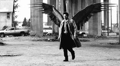 Castiel with wings is my favourite thing