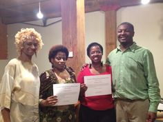 Students Vonita from Maryland & Nikki from Texas completed their course at Everette's at our Natural Hair Boot Camp on Resurrection Weekend.