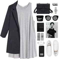 YOINS 16 - Icon by tania-maria on Polyvore featuring H&M, ASOS, MICHAEL Michael Kors, Quay, Ex Voto Paris, yoins, yoinscollection and loveyoins