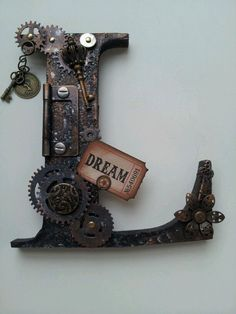 Steampunk letter - Love it!