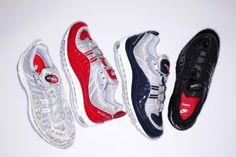 lowest price f7a43 bebc7 Supreme X Nike Air Max 98 Air Max 90, Nike Air Max, Reebok,