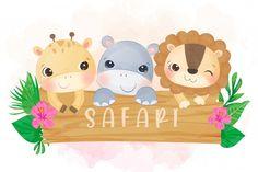 Word Art, Panda Lindo, Baby Animals, Cute Animals, Most Beautiful Animals, Safari Theme, Kids Logo, Baby Art, Vinyl Crafts