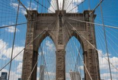 Summer To-Do Wish List in NYC. Walk across the Brooklyn Bridge. Hubby has already accomplished this, now it's my turn.