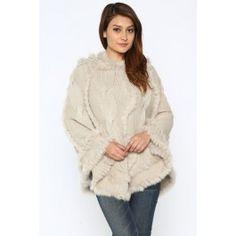 http://www.salediem.com/shop-by-size/small/knitted-luxury-hooded-poncho.html #salediem #fallsweater