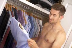 Distinctive men keep a wardrobe organised!
