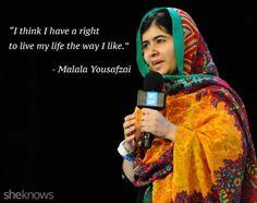 Malala Yousafzai Quotes Pinwendy Begley On Education  Pinterest  Girl Power Feminism .