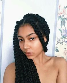 43 Cool Blonde Box Braids Hairstyles to Try - Hairstyles Trends Shaved Side Hairstyles, Box Braids Hairstyles, Girl Hairstyles, Big Box Braids, Blonde Box Braids, Twists, Dreads, Protective Style Braids, Protective Styles