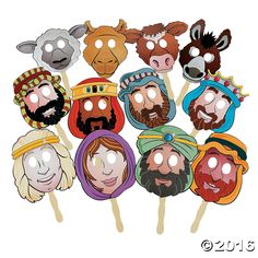 Nativity Masks - OrientalTrading.com