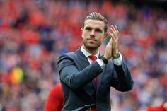 Jordan Henderson confident of making injury return for Liverpool's pre-season - Liverpool FC from This Is Anfield Liverpool Captain, Liverpool Football Club, Liverpool Fc, This Is Anfield, You'll Never Walk Alone, Confident, Beautiful Men, Crushes, Jordans