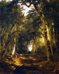 metropolitan museum of art paintings | Asher-B-Durand-xx-In-the-Woods-xx-Metropolitan-Museum-of-Art.jpg