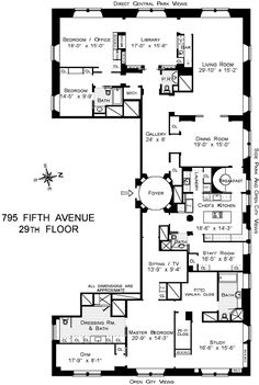 Ideas Apartment Floor Plan Manhattan For 2019