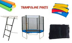 11 Trampoline Enclosure Parts You Need To Know - Domi Jump Trampoline Safety Net, Trampoline Ladder, Trampoline Parts, Trampoline Springs, Screws And Bolts, Storage, Purse Storage, Larger, Store