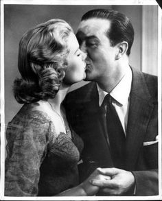 Grace Kelly and Ray Milland in Dial M for Murder
