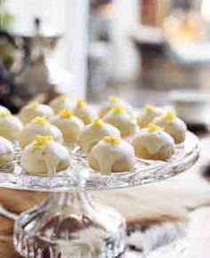 High Tea Lemon Cookies