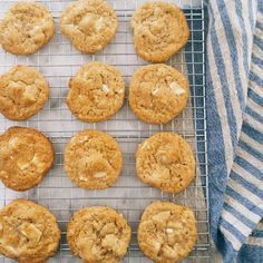 The Best Brown Butter White Chocolate Macadamia Cookies