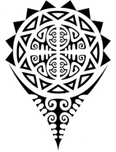 Polynesian Designs And Patterns | Polynesian Tattoo Designs - #maori #tattoo #tattoos