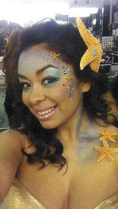 Mermaid Makeup by Wendy