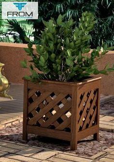Photos from José Antonio Gonçalves on Myspace Wooden Planters, Wooden Garden, House Plants Decor, Plant Decor, Beautiful Home Gardens, Garden Planter Boxes, Interior Design Pictures, Pot Jardin, Plant Box