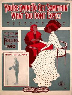 ziegfeld follies theater program | Ziegfeld Follies of 1910 - You're Gwine to Get Something You Don't ...