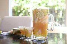 Sunset Punch - Agave, Orange Juice, Sparkling Rose Wine, Lime.