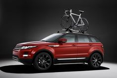 Led by its design director, Gerry McGovern, luxury SUV maker Land Rover will be making headway into the cycling market this year with the Range Rover Evoque Range Rovers, 2012 Range Rover, New Range Rover Evoque, The New Range Rover, Land Rover, Geneva Motor Show, Exterior, Luxury Suv, Hot Bikes