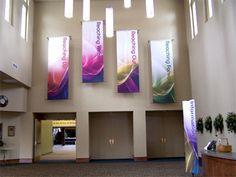 church banner mount - Google Search