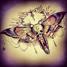 Gallery For > Moth Tattoo Designs Victims