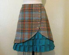 vanhasta puvuntakista hame